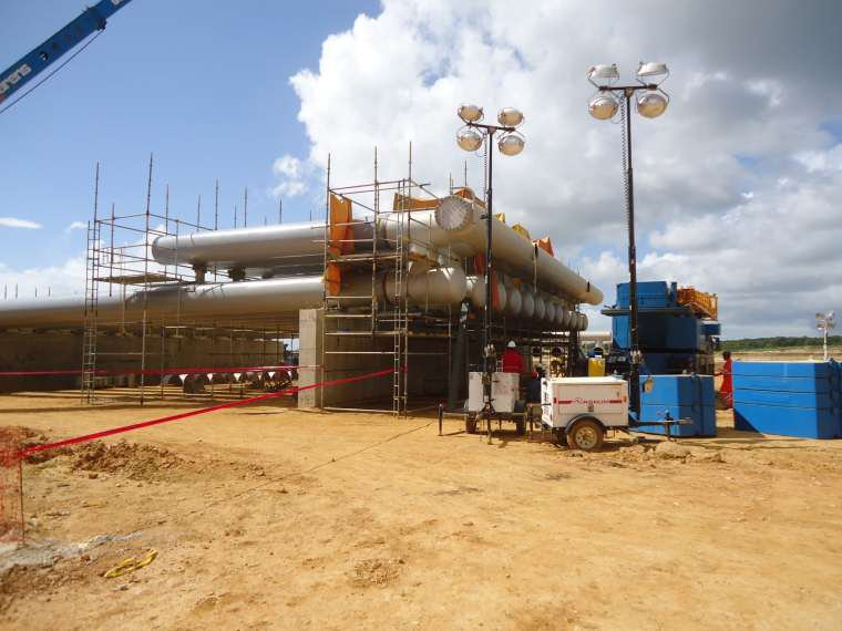 PAGMI Project Phase I & II Gas conditioning for Domestic Market