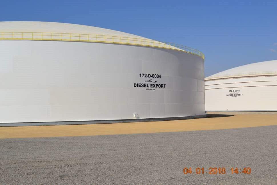 Diesel and Gasoline Storage Facilities Project