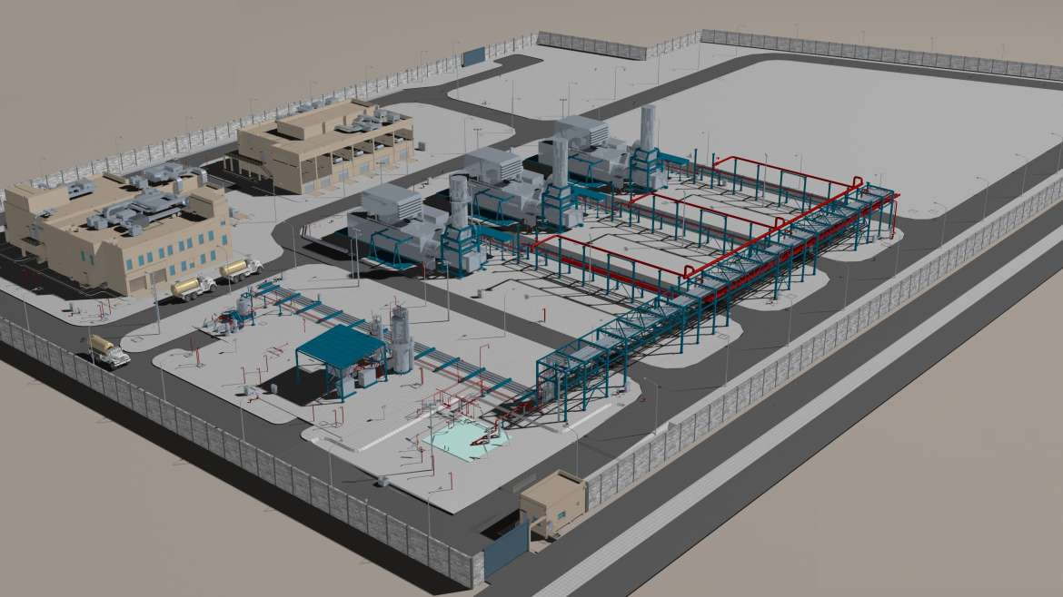 Permanent Power Plant for the Ethylene and Derivatives complex (PPP)